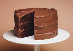 Chocolate Mayonnaise Cake Mayonnaise replaces the oil that's typically used in chocolate cakes. It gives this cake—which would make the ideal birthday cake—an incredibly moist and tender texture. Serve with glasses of ice-cold milk.