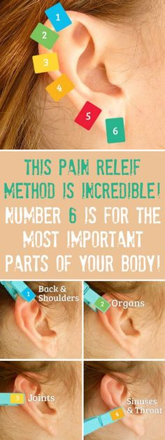 THIS INCREDIBLE #PAIN #RELIEF #METHOD IS AS SIMPLE AS PUTTING A #CLOTHESPIN ON YOUR #EAR #Exerciseandyourthyroid