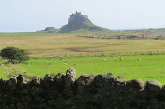 Another view of Linisfarne Castle and Holy Island ,UK