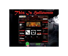 A prestashop template designed for a halloween or costumes store. Includes unique features like select background from back office  and slide of images.  This template includes the module Slideffan, a social module to show twitter, facebbok and google+1 profile. And you can add a slide of images with the module Aquaslider. This module let you put slide of images in columns, home or footer.  http://catalogo-onlinersi.net/en/templates-prestashop-15/431-this-is-hallowween-ps-15.html