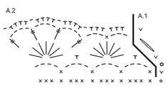DROPS Jul: Hæklet DROPS kurv i 2 tråde Belle med viftemønster Gratis opskrifter fra DROPS Design.