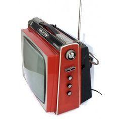 TV VÁLVULAS ROJA DE LOS 60
