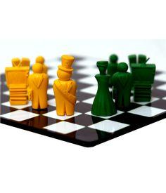 jogo de xadrez politicagem R$360,00