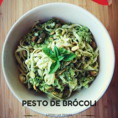 Receta de pesto de brócoli