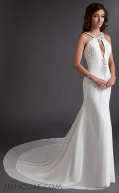 You will be a glam goddess in this one of kind prom dress jjshouse