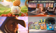 12 Best 3D Animation and TV Commercial Videos for you Inspiration