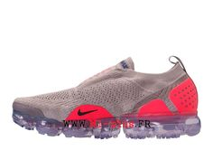 release date: 86cc6 63443 Nike Air VaporMax Flyknit 2. 0 Chaussures 2018 Pas Cher Pour Homme Rose  rouge AH7006