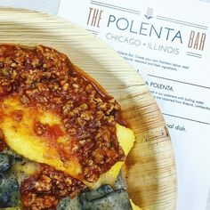 If you want straight-up Northern Italian comfort food but aren't looking for pasta might I suggest @thepolentabar? It's such a great idea tucked away in the West Loop/Fulton Market. Toppings on polenta. Done and delish! Big thanks to Polenta Bar and @hungerlusttravel for hosting! #DiningatmyDesk #chicagogrammers