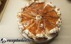 Francia krémes torta recept fotóval Camembert Cheese, Dairy, Pie, Desserts, Share Online, Food, Food Cakes, France, Caramel