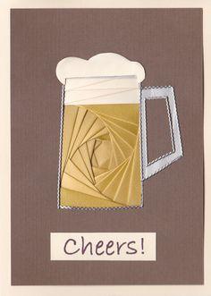Iris Folded Beer Mug