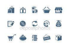 Shopping icons | Piccolo series