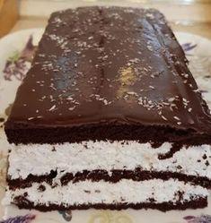 Nagyon egyszerű és finom: Kókuszos Kinder szelet! - Ketkes.com Cooking Together, No Bake Cake, Sweet Recipes, Breakfast Recipes, Food And Drink, Yummy Food, Sweets, Cookies, Chocolate