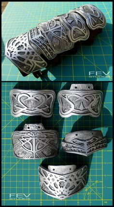 AC1- Altair's bracer plates by fevereon on DeviantArt