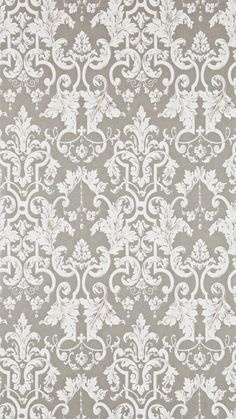 Zoffany - Constantina Damask Wallpaper Collection - Marmorino  - 2015 -inspired by beautiful plaster mouldings that adorn the walls of rococo buildings.