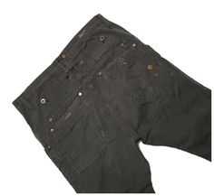 G-STAR 'DECK 5620 TAPERED' CARGO PANTS MEN'S 33, Authentic - RRP $200