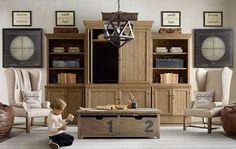 rich kids, cool furniture