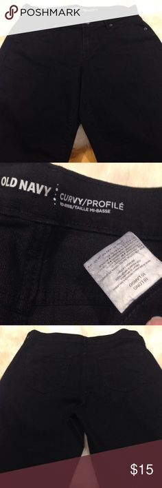 Old Navy Curvy Mid-Rise Skinny Jean *Long these jeans are in excellent condition. no rips stains tears or fading. they have lots of room for ladies with wide hips. Inseam 31 Old Navy Jeans Skinny