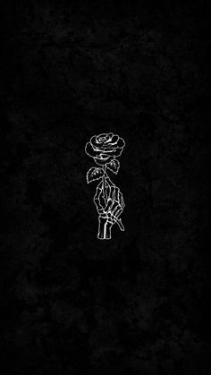 Skeleton Rose IPhone Wallpaper - IPhone Wallpapers