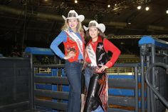 ❤ Cowgirls ❦ Taylor and Jori at the Tulsa State Fair in October