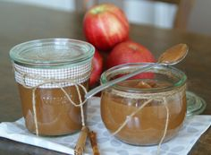 Aus dem Slow Cooker: Cinnamon Apple Butter