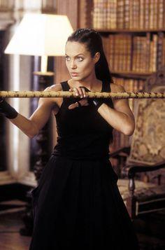 Badass - Angelina Jolie in Lara Croft Tomb Raider: The Cradle of Life