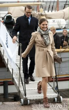 Crown Princess Victoria and Prince Daniel visit Finland