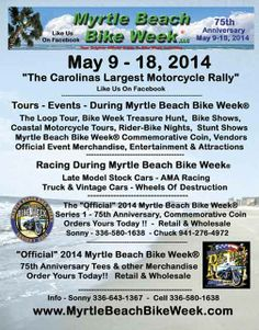 Myrtle Beach Bike Week Spring Rally(R) - 2014 Bike Week Myrtle Beach