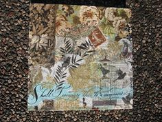 .....altered book studio.....: Decoupage Play Date...!