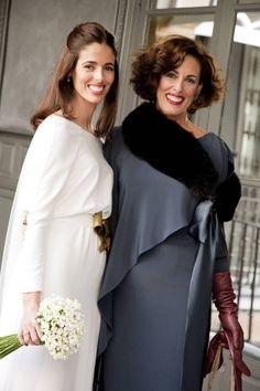 La boda de Belén. Otra *madre de la novia* perfecta, elegante y estupenda.