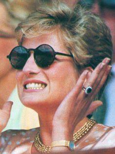 Diana at Wimbledon