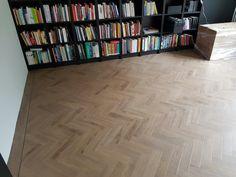 De Gwf055 van Green floor een echte visgraat vloer