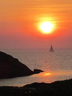 ✯ Sunset on Monhegan Island - Maine