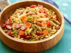 Get Garden Pasta Salad Recipe from Food Network