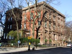 Address: 2 and 3 Pierrepont Place, between Montague and Pierrepont Streets  Name: Alexander M. White and Abiel Abbot Low Houses  Neighborhood: Brooklyn Heights ( Brooklyn Heights Historic District)  Year Built: 1857  Architectural Style: Italianate  Architect: Frederick A. Peterson