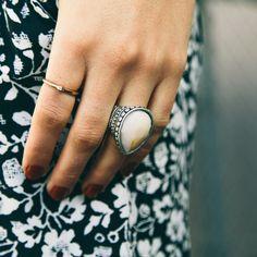 Vanilla Drop Ring/ www.nectarclothing.com