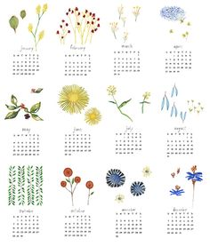 They're Here! 2014 Calendars Part 2