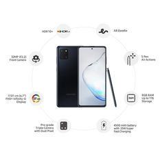 AMAZON.in: Samsung Galaxy Note10 Lite (Aura Black, 8GB RAM, 128GB Storage) with No Cost EMI/Additional Exchange Offers. Mobile Phone Price, New Mobile Phones, Best Mobile Phone, Galaxy Smartphone, Samsung Galaxy, Buy Phones, Camera Phone, Multi Touch, Galaxy Note 10