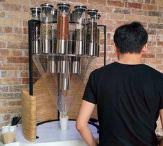 TeaBOT: Custom Loose Leaf Tea Vending Machine  ... see more at InventorSpot.com