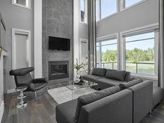 Living Rooms Photo Gallery | Edmonton Home Builders