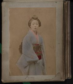 1904; from an old private photo album with pictures made in Asia