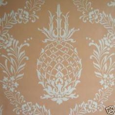 pineapple stencil stencils coral