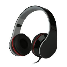 E'max® Lightweight Portable Stereo Headphones Headset Earphone for MP3,MP4,PC,Tablet,Most Smartphone Black  Features   • Adjustable headband for comfort and secure fit  • 3.5mm plug and 5 ft. cord  • Deep base response,high quality stereo sound  • Frequency response 20Hz-20kHz,Sensitivity:-45dB+/-3dB  • Mircophone with high integrity ,compatible with MP3, MP4, PC,PCD,DVD,most #smartphone