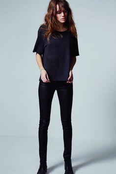 CAPSULE COLLECTION - Androginia chic de Freja Beha no denim da Mother - Notícias - Guia JeansWear : O Portal do Jeans