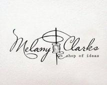 Needlework Sewing  logo, business logo and watermark, retro logo, Needle logo, premade logo design - design logo