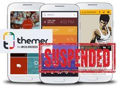 Themer acaba de ser eliminado de Google Play Store por cuestiones legales, con Apple