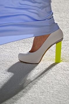 #Neon / Heels  Ooo!  I might try Love Maegan's nail polish neon heel on a shoe like this one...