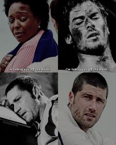 "LOST (@lost.fandom) on Instagram: ""↳ [ 1.04 - 1.20 ] - ""I'm letting you off the hook."""