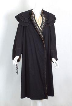 Stern Brothers wool coat, c.1905