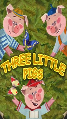 Three Little Pigs, Read & Play! #storybookapps #appsforkids