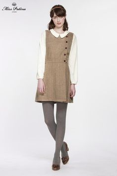 Primrose Pinafore (Tweed) (2)